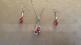 Fashionable Alloy With Crystal Jewelry Sets (011036499)