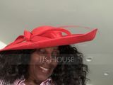 Ladies' Elegant Cambric With Bowknot Bowler/Cloche Hats/Kentucky Derby Hats (196086556)