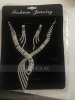 Gorgeous Alloy With Rhinestone Jewelry Sets (011027615)