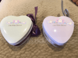 Personalized Heart Shaped Tins Favor Tin (Set of 24) (118061463)