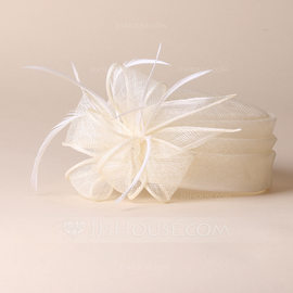 Ladies' Elegant/Simple/Pretty Cambric With Feather Beret Hats (196168860)