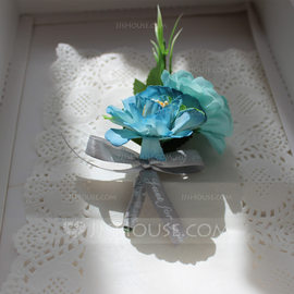 Hand-tied Silk Flower Boutonniere (Sold in a single piece) - Boutonniere (123182677)