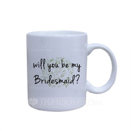 Bridesmaid Gifts - Beautiful Keramik Mug