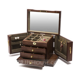 Bride Gifts - Attractive Delicate Wooden Jewelry Holder (255225287)