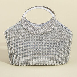 Bright Crystal/ Rhinestone Clutches/Satchel/Top Handle Bags/Bridal Purse/Evening Bags (012118130)