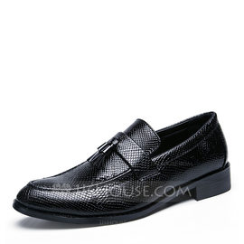 Men's Microfiber Leather Tassel Loafer Casual Men's Loafers (260176566)