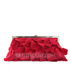 Gorgeous Silk Clutches (012010431)