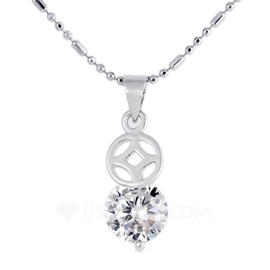 Beautiful Alloy With Rhinestone Ladies' Necklaces (011052825)