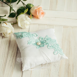 Lovely Ring Pillow in Satin With Ribbons (103093882)