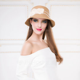 Ladies' Eye-catching Papyrus Straw Hats