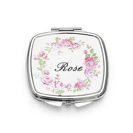 Bridesmaid Gifts - Personalized Stainless Steel Compact Mirror (256184475)