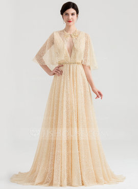 Lace Tulle Special Occasion Wrap (013186000)