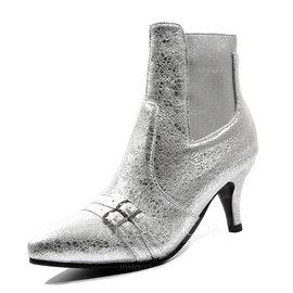 Kvinnor Konstläder Stilettklack Stövlar skor