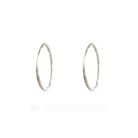 Classic Metal Ladies' Fashion Earrings (137052304)