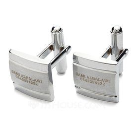 Groomsmen Gifts - Personalized Classic Zinc alloy Cufflinks (258175049)