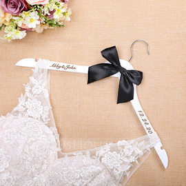 Bride Gifts - Personalized Classic Wooden Hanger (255184455)