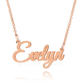 Gift for her\u2022 Custom symbol name necklace \u2022 name necklace\u2022 gift for wife \u2022rose gold name necklace \u2022 gift for mother \u2022 personalized jewellery