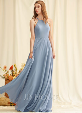 Round Neck Square Neck Sleeveless Maxi Dresses (293250370)