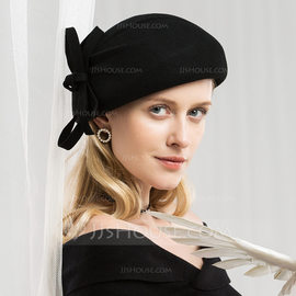 Ladies' Glamourous/Exquisite Wool Beret Hat (196178758)