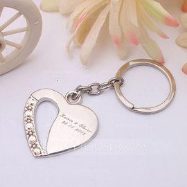 Bridesmaid Gifts - Personalized Fashion Alloy Keychain (Set of 4) (256171227)
