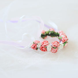 Artificial Flower Wrist Corsage (Sold in a single piece) - (123185627)