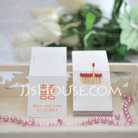 Personalized Double Happiness Hard Card Paper (Set of 50) (118031619)