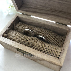 Personalized Ring Box in Wood (103186337)