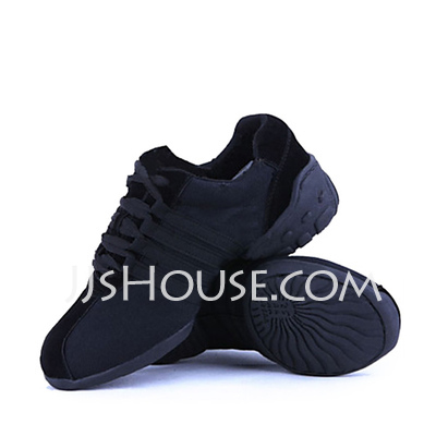 Unisex Canvas Sneakers Practice Dance Shoes