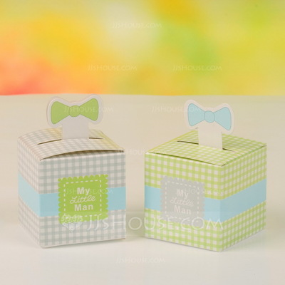 Classic Cubic Favor Boxes (Set of 12)