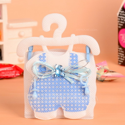 Baby Dress Design Favor Bags With Rhinestone (Set of 12)