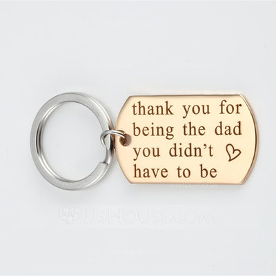 Classic/Lovely Stainless Steel Keychains