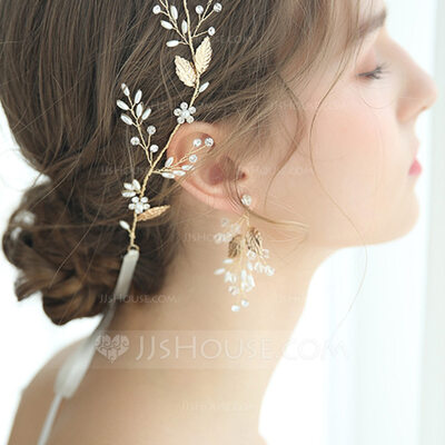 Ladies' Romantic Alloy Rhinestone/Imitation Pearls Earrings For Bride/For Bridesmaid/For Mother/For Friends/For Her