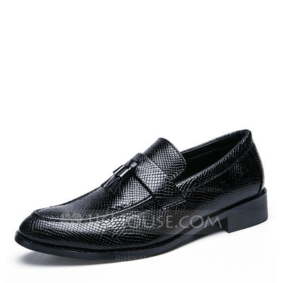 Men's Microfiber Leather Tassel Loafer Casual Men's Loafers