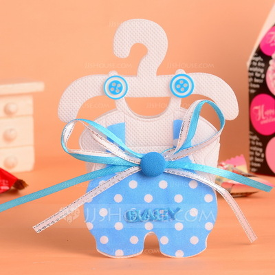Baby Dress Design Favor Bags With Bow (Set of 12)