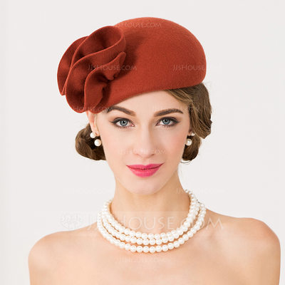 Ladies' Simple/Pretty/High Quality Wool Beret Hats