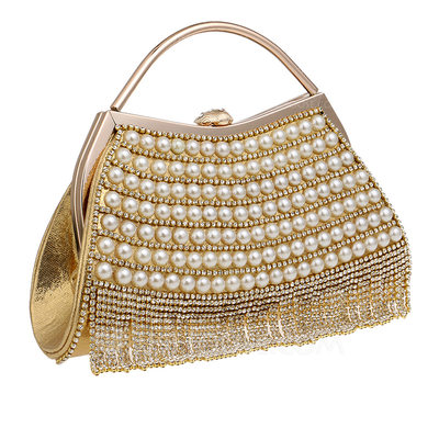 Unique Crystal/ Rhinestone/Pearl Clutches/Top Handle Bags