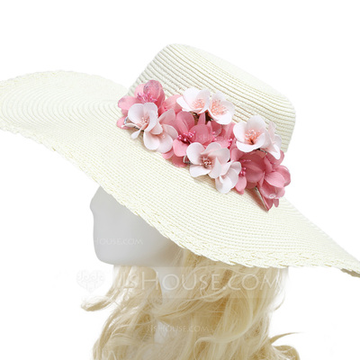 High Quality Imported Paper/Rattan Straw Flowers & Feathers