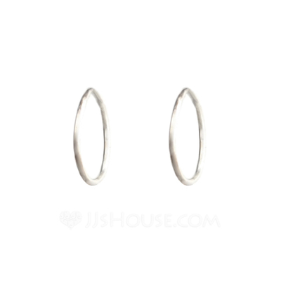 Classic Metal Ladies' Fashion Earrings