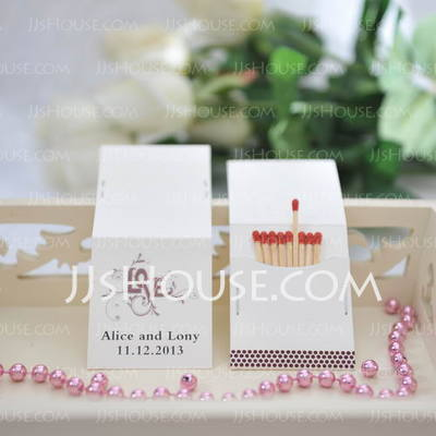 Personalized Love Design Hard Card Paper (Set of 50)