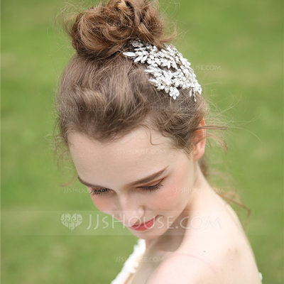 Ladies Beautiful Rhinestone Headbands With Rhinestone (Sold in single piece)