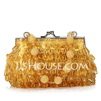 Gorgeous Acrylic With Beading/Sequin Clutches