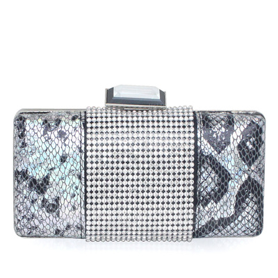 Gorgeous PU With Rhinestone Clutches