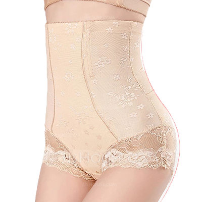 Women Sexy/Classic Polyester/Lace Breathability Panty Shapers Shapewear