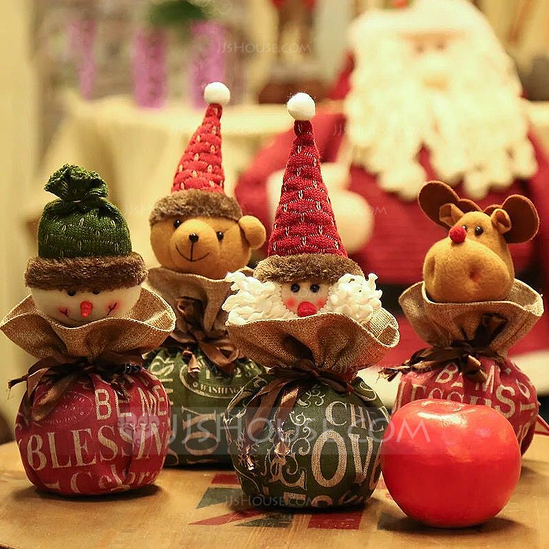 Christmas Ornaments Cloth Holiday Decoration 188464 Home Accents