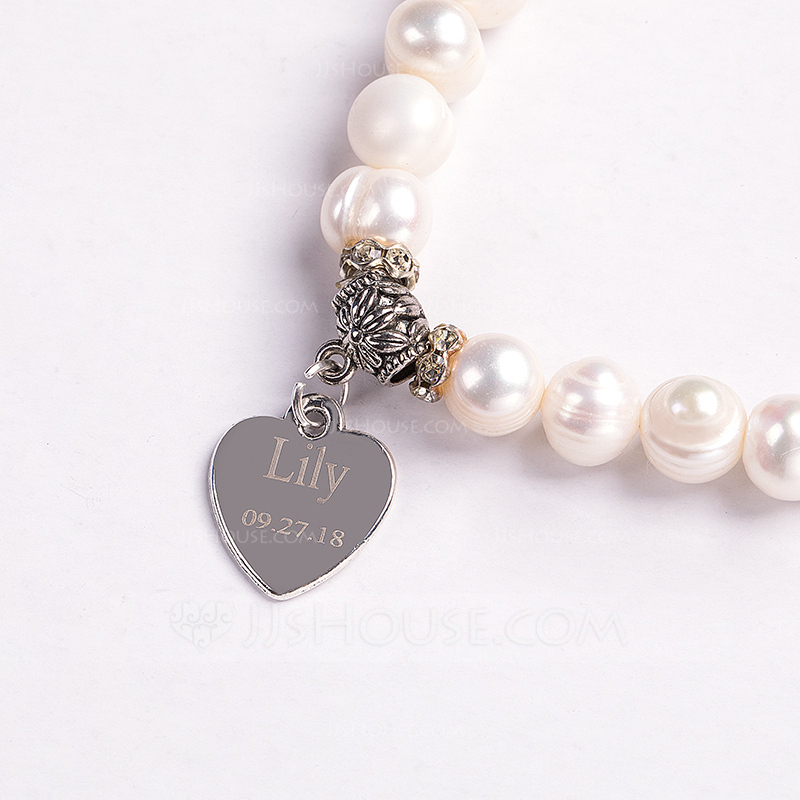 Bride Gifts - Personalized Sexy Imitation Pearls Bracelet