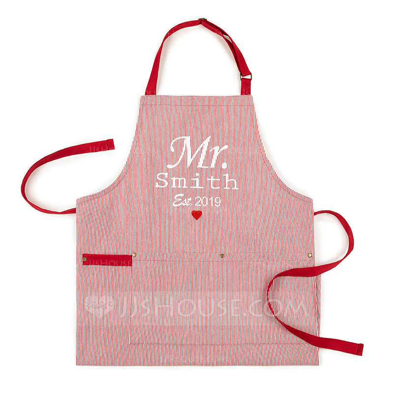 Casual Soft Multifunctional Personalized Polyester Apron