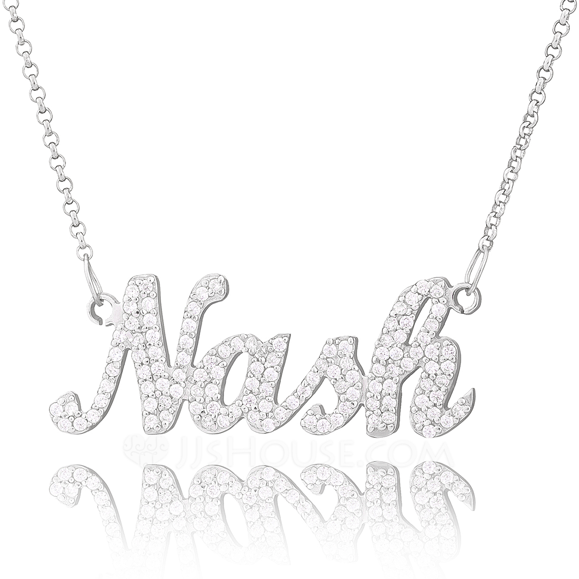 Bridesmaid Gifts - Personalized Fascinating Name Necklace