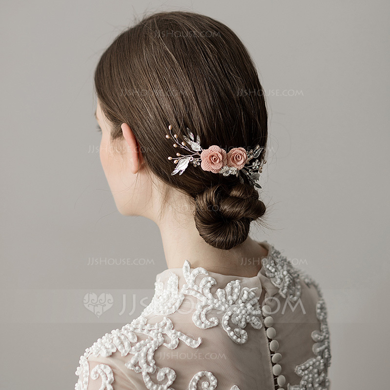 Ladies Special Imitation Pearls Combs & Barrettes With Venetian Pearl (Sold in single piece)