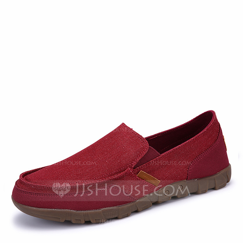 7dac540324 Homens Lona Penny Loafer Casual Mocassins Masculinos. Loading zoom.  Carregando