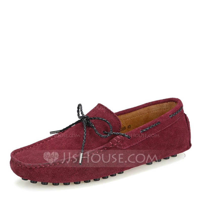 Men's Real Leather Boat Shoes Casual Men's Loafers